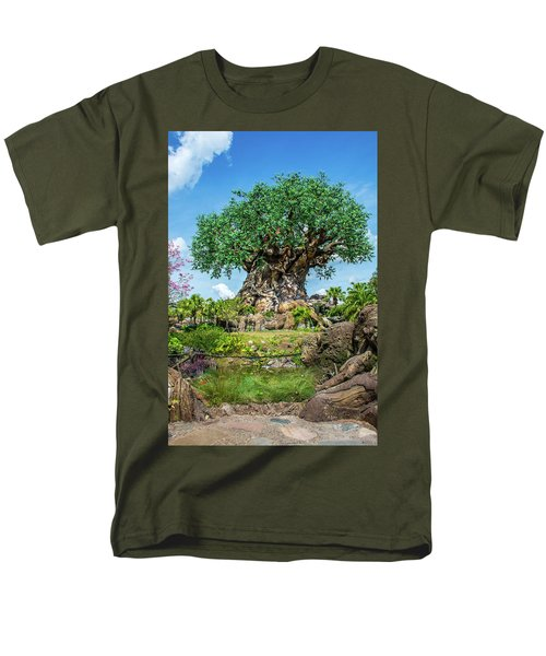 Tree Of Life Men's T-Shirt  (Regular Fit) by Pamela Williams