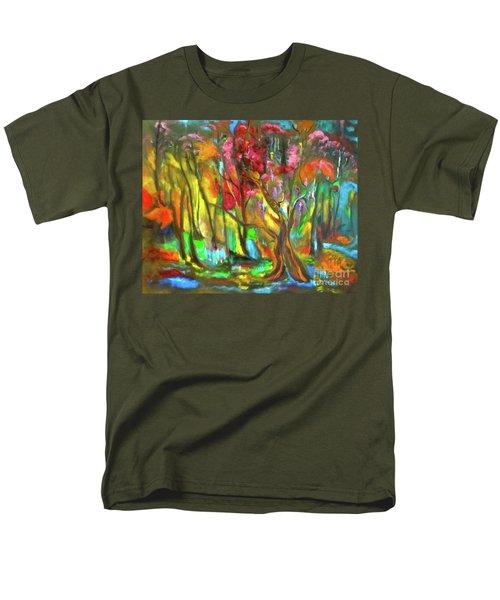 Trees Men's T-Shirt  (Regular Fit) by Jenny Lee