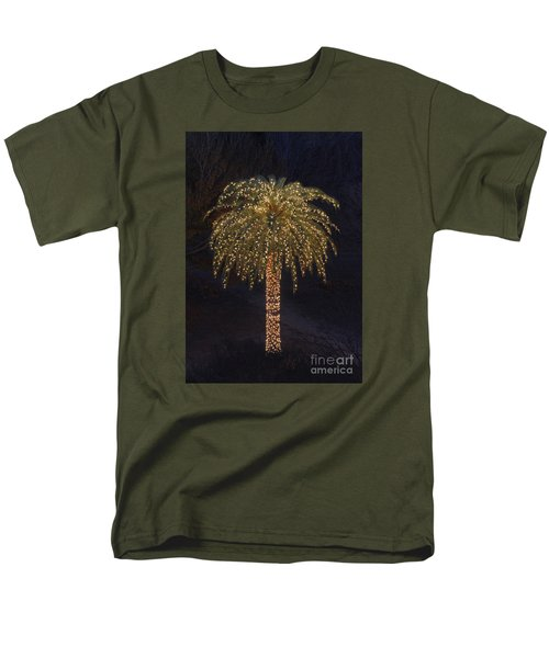 Tropical Christmas Men's T-Shirt  (Regular Fit) by Kevin McCarthy