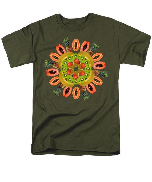 Tropical Fruits Men's T-Shirt  (Regular Fit)