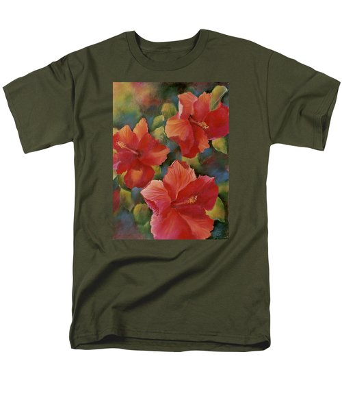 Men's T-Shirt  (Regular Fit) featuring the painting Tropical Punch by Ann Peck