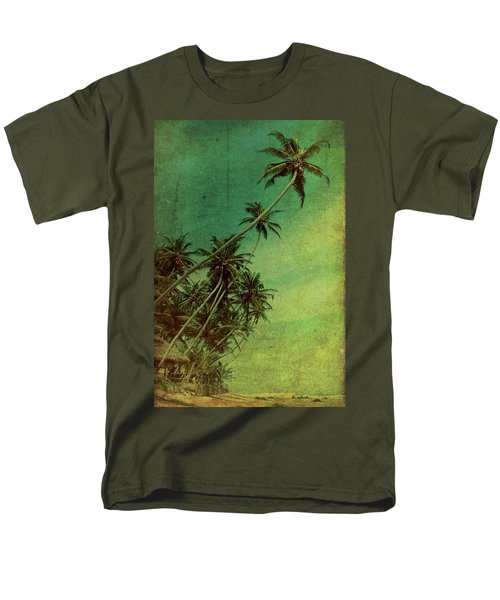 Tropical Vestige Men's T-Shirt  (Regular Fit) by Andrew Paranavitana