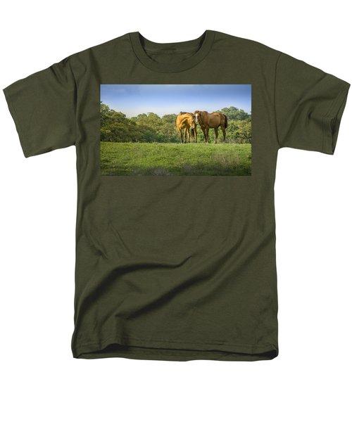 True Love Men's T-Shirt  (Regular Fit) by Debbie Karnes