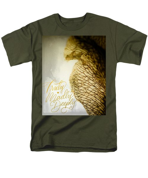 Men's T-Shirt  (Regular Fit) featuring the photograph Truly Madly Deeply by Bobby Villapando