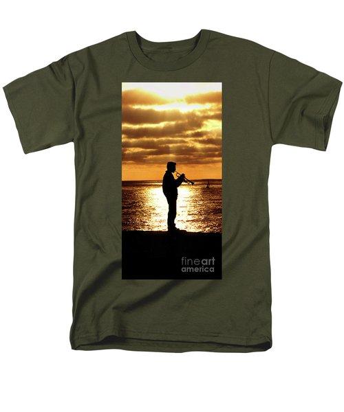 Trumpet Player Men's T-Shirt  (Regular Fit)