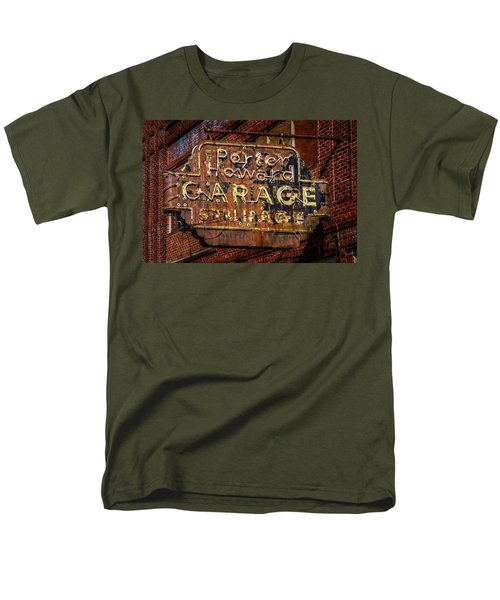 Men's T-Shirt  (Regular Fit) featuring the photograph Trust In Rust by Linda Unger