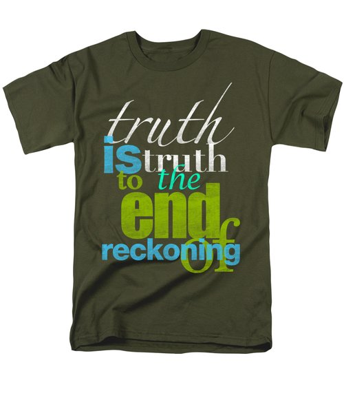 Michael Jackson Truth Is Truth Men's T-Shirt  (Regular Fit) by D Francis