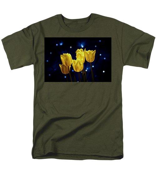 Men's T-Shirt  (Regular Fit) featuring the photograph Tulip Twinkle by Tom Mc Nemar