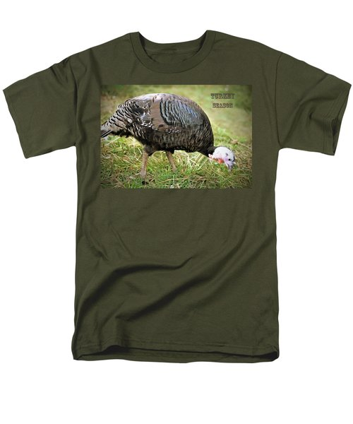 Men's T-Shirt  (Regular Fit) featuring the photograph Turkey Season by Marion Johnson