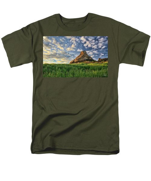 Turtle Rock At Sunset 2 Men's T-Shirt  (Regular Fit) by Endre Balogh