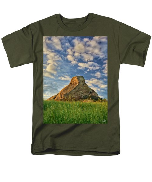 Turtle Rock Men's T-Shirt  (Regular Fit) by Endre Balogh