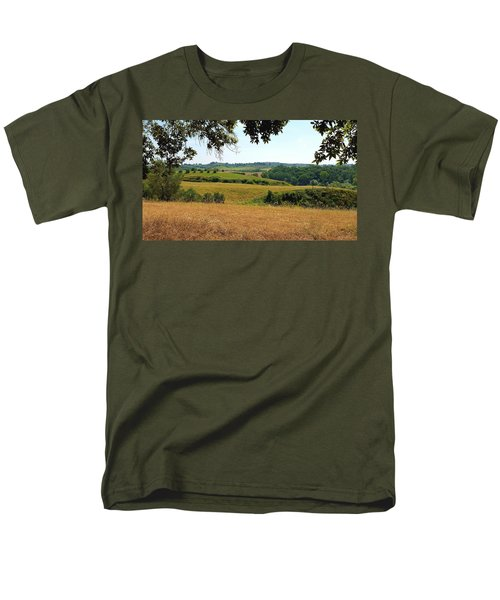 Men's T-Shirt  (Regular Fit) featuring the photograph Tuscan Country by Valentino Visentini