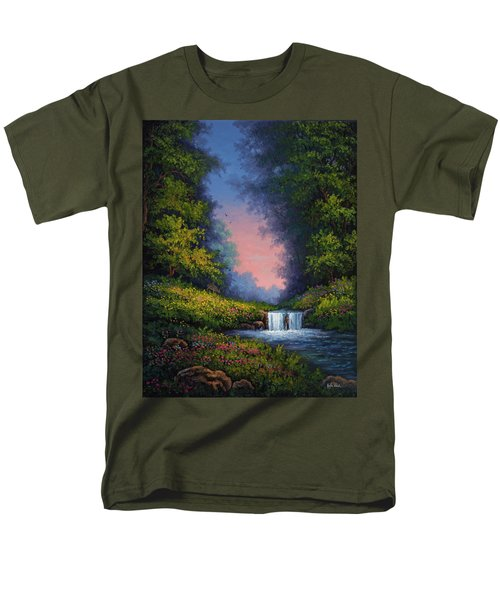 Twilight Whisper Men's T-Shirt  (Regular Fit) by Kyle Wood