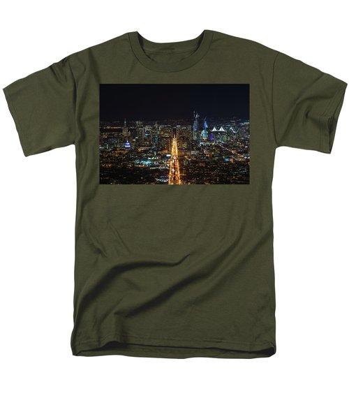 Twin Peaks Men's T-Shirt  (Regular Fit) by Alpha Wanderlust