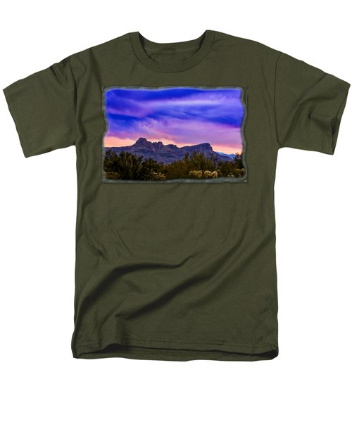 Twin Peaks H30 Men's T-Shirt  (Regular Fit) by Mark Myhaver