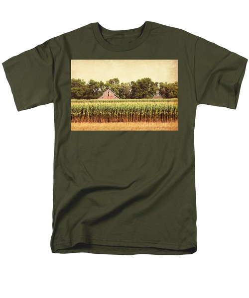 Men's T-Shirt  (Regular Fit) featuring the photograph Twin Peaks by Julie Hamilton