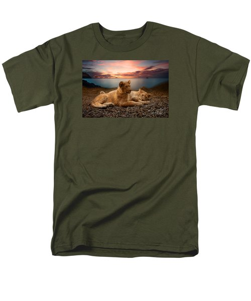 Men's T-Shirt  (Regular Fit) featuring the photograph Two by Christine Sponchia
