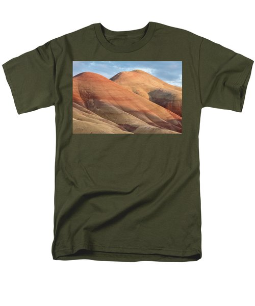 Men's T-Shirt  (Regular Fit) featuring the photograph Two Painted Hills by Greg Nyquist