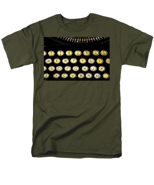 Men's T-Shirt  (Regular Fit) featuring the photograph Typewriter by Christopher Woods