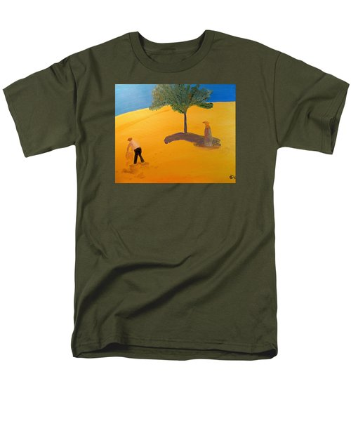 Under The Tuscan Sun Men's T-Shirt  (Regular Fit) by Bill OConnor