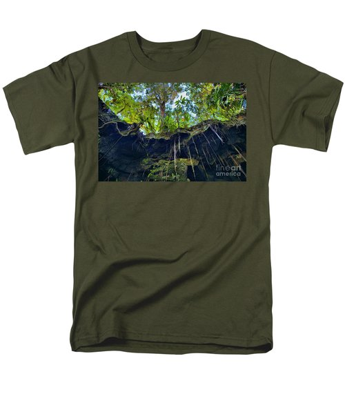 Men's T-Shirt  (Regular Fit) featuring the photograph Underground by DJ Florek