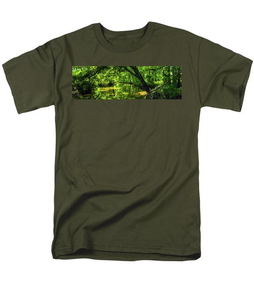 Unseen Critters Of The Lost Bayou Men's T-Shirt  (Regular Fit) by Kimo Fernandez