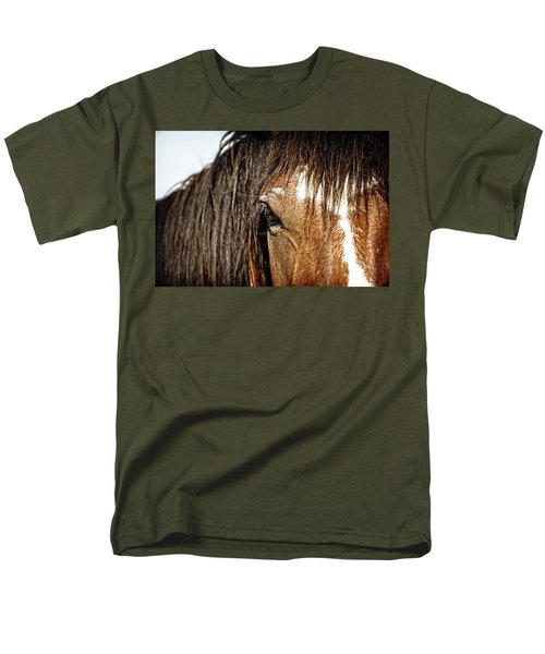 Men's T-Shirt  (Regular Fit) featuring the photograph Untamed by Lincoln Rogers
