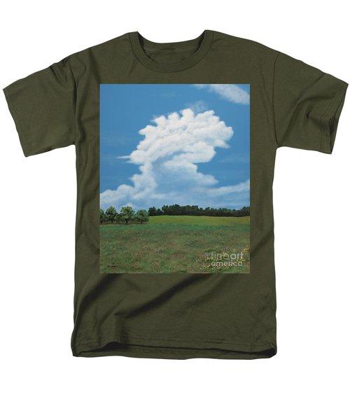 Updraft Men's T-Shirt  (Regular Fit) by Billinda Brandli DeVillez
