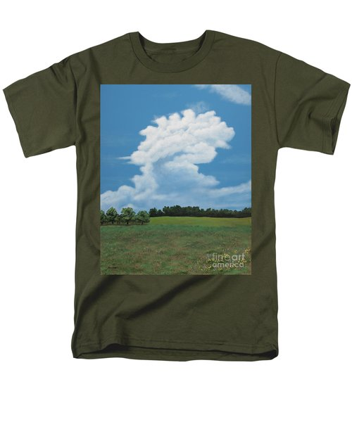 Updraft Men's T-Shirt  (Regular Fit)