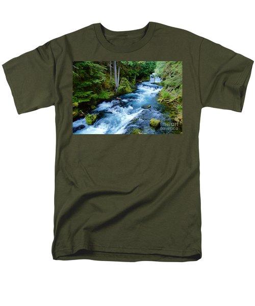 Upper Mckenzie Men's T-Shirt  (Regular Fit)