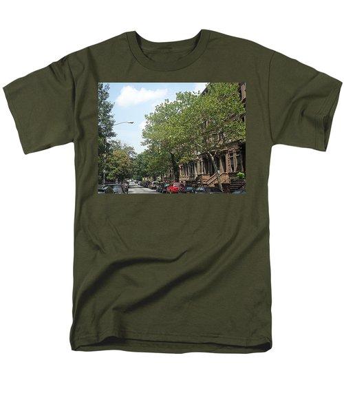 Uptown Ny Street Men's T-Shirt  (Regular Fit) by Vannetta Ferguson