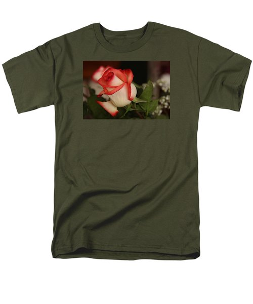 Valentine Rose Men's T-Shirt  (Regular Fit) by Yvonne Wright