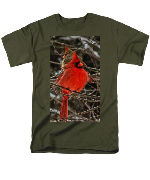 Men's T-Shirt  (Regular Fit) featuring the photograph Valentines by John Harding