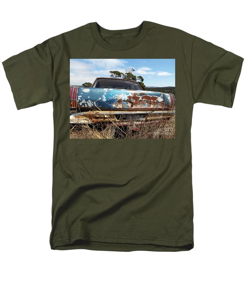 Men's T-Shirt  (Regular Fit) featuring the photograph Valiant View by Stephen Mitchell
