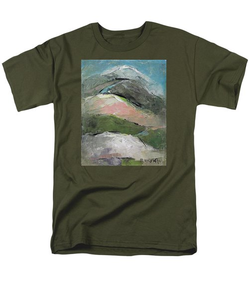 Men's T-Shirt  (Regular Fit) featuring the painting Valley by Becky Kim