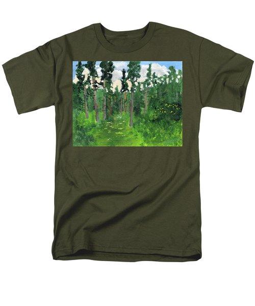 Valley Walk Men's T-Shirt  (Regular Fit) by Rodger Ellingson