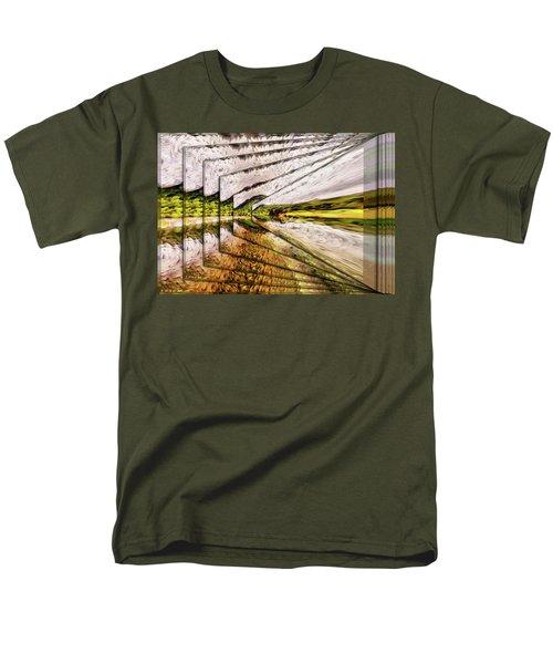 Van Gogh Perspective Men's T-Shirt  (Regular Fit) by Mario Carini