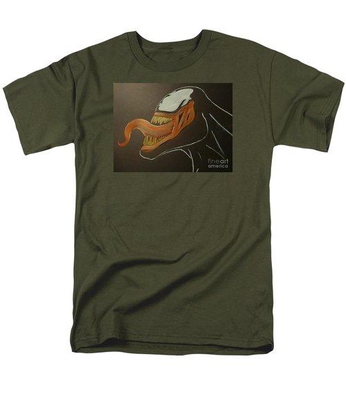 Venom Watercolor Cu Men's T-Shirt  (Regular Fit) by Justin Moore