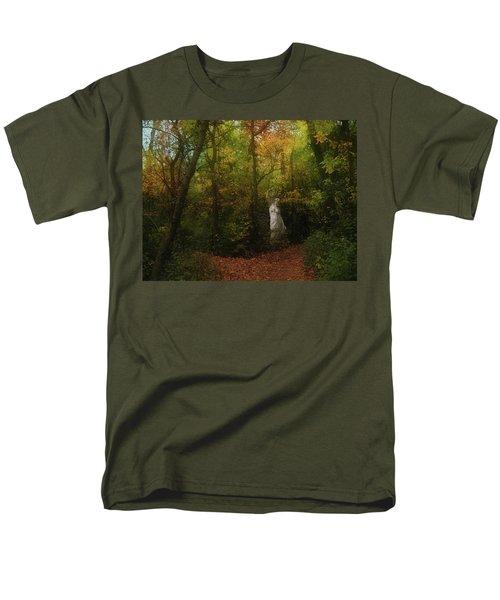Venus Of The Woodland Men's T-Shirt  (Regular Fit) by Cedric Hampton