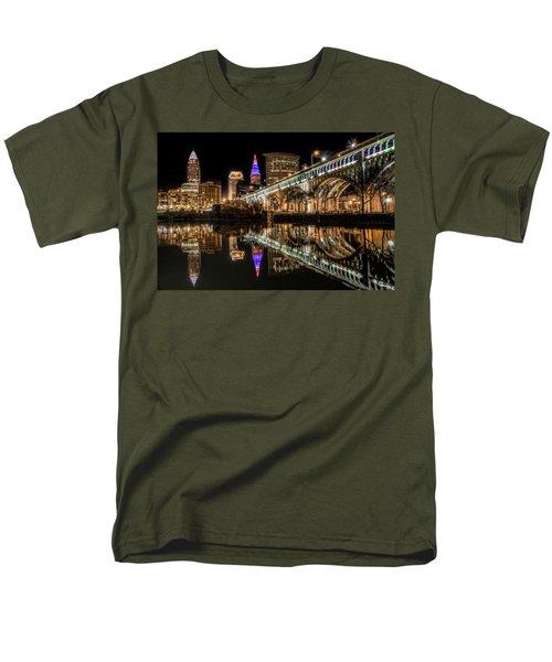 Veterans Memorial Bridge Men's T-Shirt  (Regular Fit) by Brent Durken