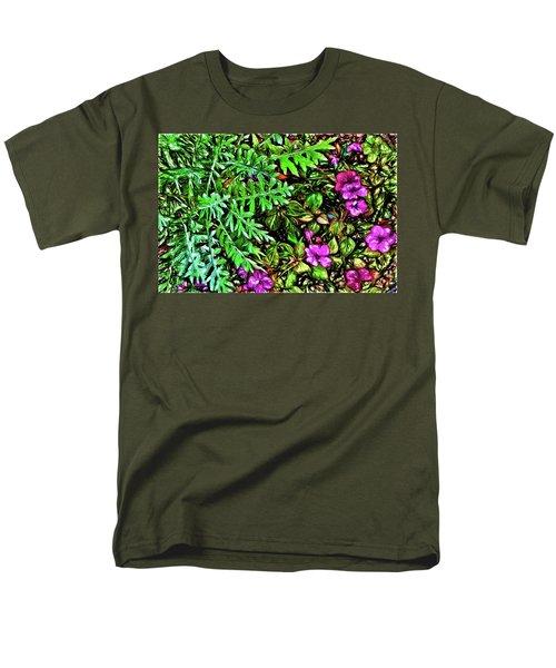 Vibrant Garden Men's T-Shirt  (Regular Fit) by Terry Cork