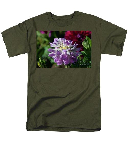Victoria Ann Dahlia Men's T-Shirt  (Regular Fit) by Glenn Franco Simmons
