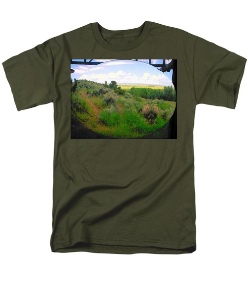 View From Cabin Window Men's T-Shirt  (Regular Fit) by Lenore Senior