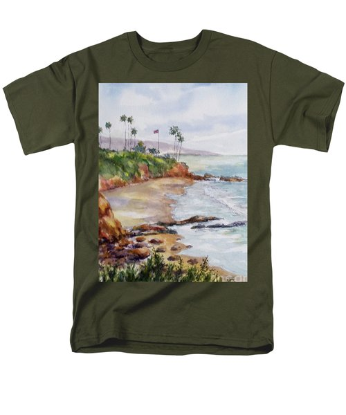 View From The Cliff Men's T-Shirt  (Regular Fit) by William Reed
