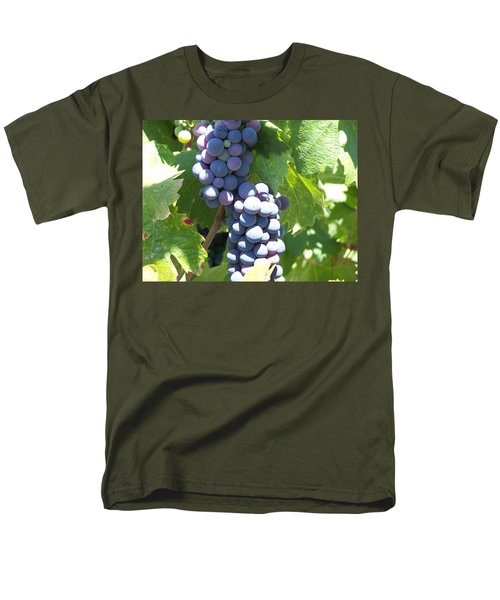 Vino On The Way Men's T-Shirt  (Regular Fit)