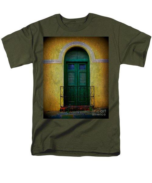 Vintage Arched Door Men's T-Shirt  (Regular Fit) by Perry Webster