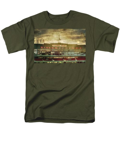 Vintage Fenway Park - Boston Men's T-Shirt  (Regular Fit) by Joann Vitali