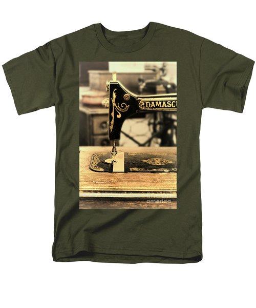Men's T-Shirt  (Regular Fit) featuring the photograph Vintage Sewing Machine by Jill Battaglia
