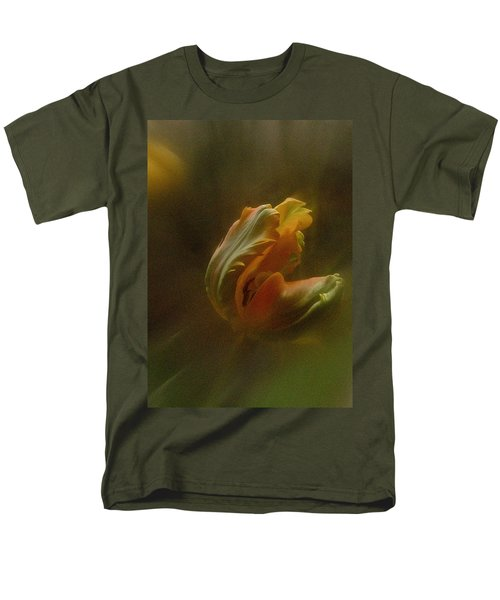 Men's T-Shirt  (Regular Fit) featuring the photograph Vintage Tulip March 2017 by Richard Cummings