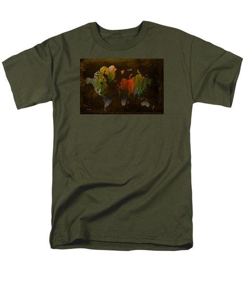 Vintage World Men's T-Shirt  (Regular Fit) by Randi Grace Nilsberg